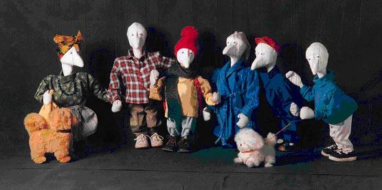 Le Festival International de théâtre de marionnettes à San Miniato (La Luna è Azzurra)