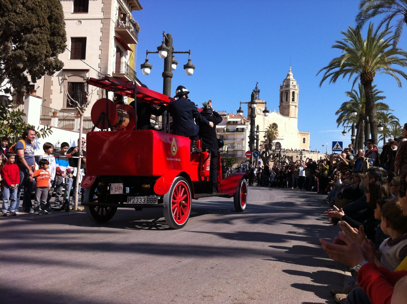 Rallye International de voitures d'époques à Sitges