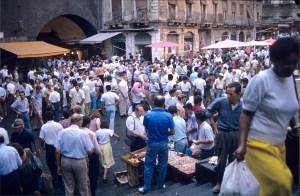 Le marché aux poissons de Catane
