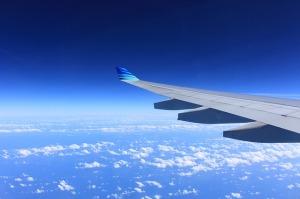 vue d'un hublot d'avion