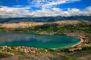 île de pag en Croatie