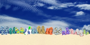 En vacances faites briller vos pieds !
