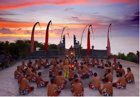 Spectacle de danse Kecak